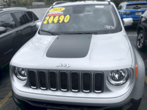 JEEP RENEGADE GRAPHICS
