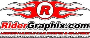 Rider Graphix, Side Stripe, Decals, Graphix